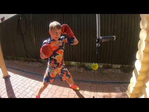 Kids Speedy Boxing Training Exercise