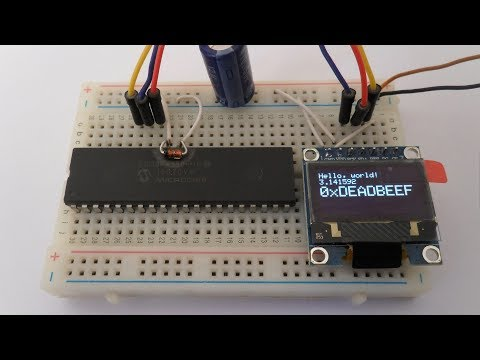 STM32 OLED Display SSD1306 Test by YoungSoo Ahn