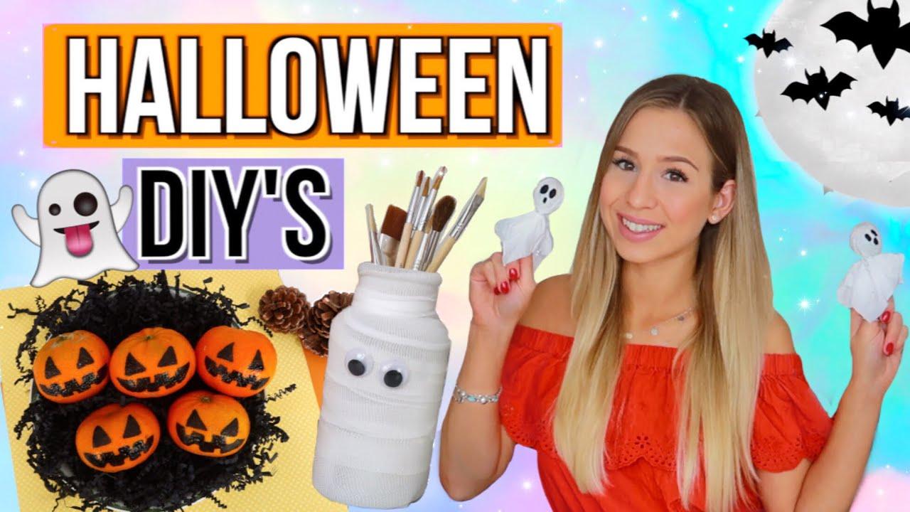 Halloween Basteln Teenager.1 Min Halloween Diys Halloween Deko Selber Basteln Halloween 2018 Deutsch Cali Kessy Youtube