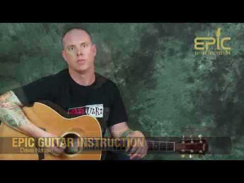 Guitar Lesson Learn to play Journey Dont Stop Believin' w/ piano part chords strumming