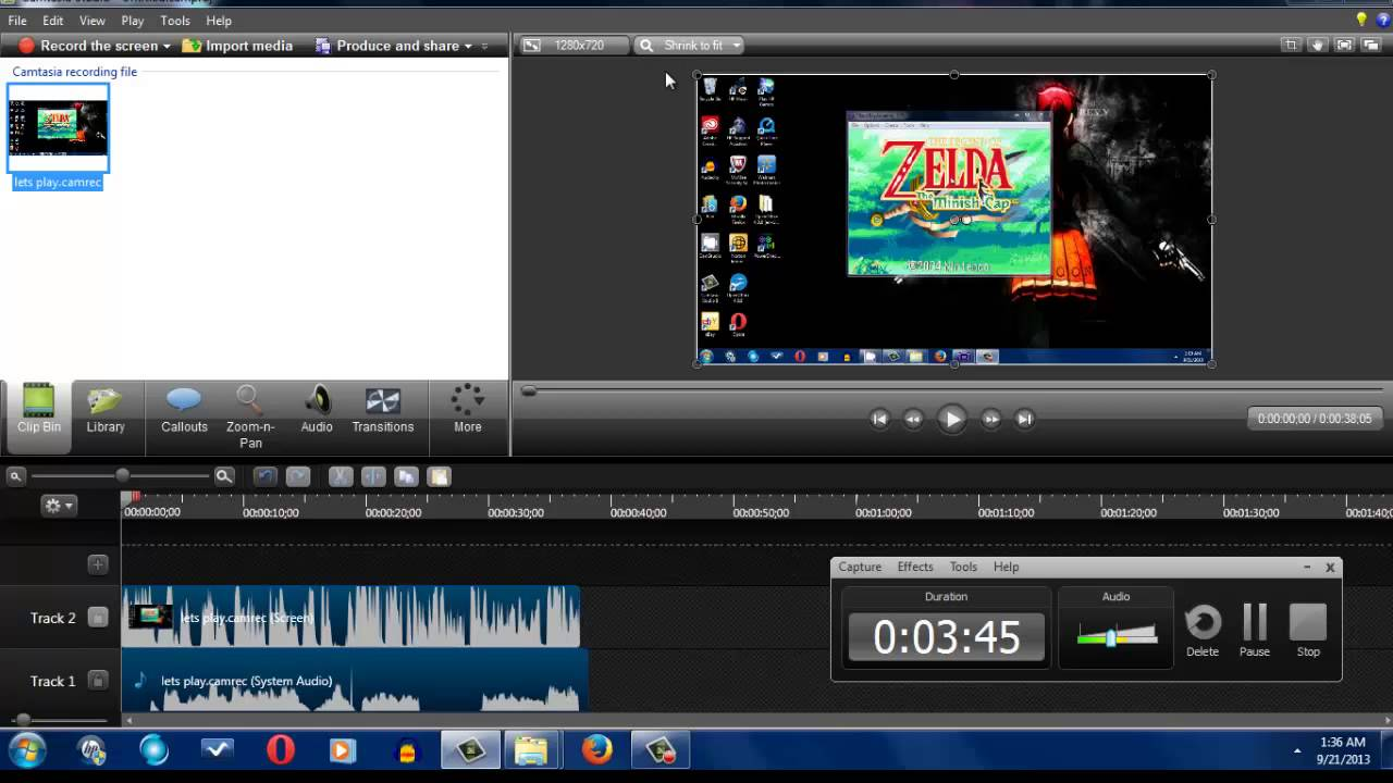 how to record ANY gameplay on your pc-using camtasia studio 8 and brief  tutorial on editing
