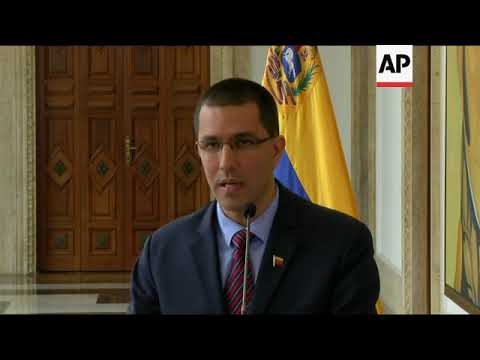 Venezuela rejects Trump talk of military option