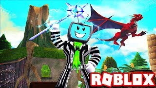 Becoming The Most Powerful Wizard With Merlins Staff | Roblox Wizard Training Simulator