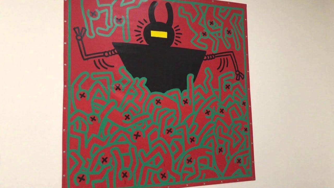 Keith Haring Ausstellung In Der Hypo Kunsthalle München Youtube