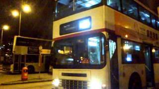 Repeat youtube video [17/2] 九巴 ADS - HB 1674 @ 74A 拆牌及離開觀塘碼頭總站