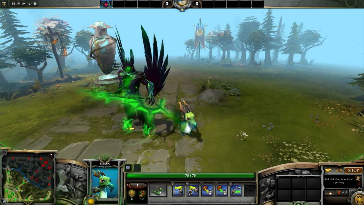 Dota 2 Courier Osky The Ottdragon Trail Of The Burning