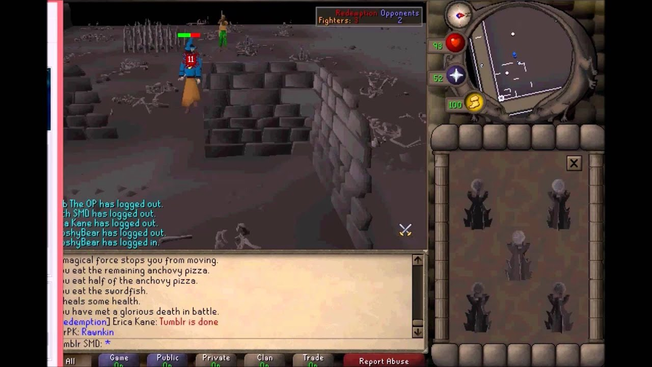 how to make a clan in old school runescape