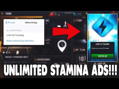 USE THIS TRICK TO GET UNLIMITED STAMINA ADS IN NBA LIVE MOBILE 19!!!