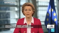 Ursula von der Leyen sur France 24 : 'Nous ne pourrons pas vaincre le Covid-19 sans vaccin'