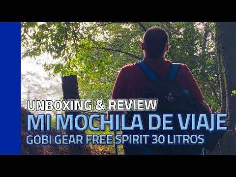 Mochila minimalista de viaje: Reseña completa de la Gobi Gear Free Spirit 30L en español