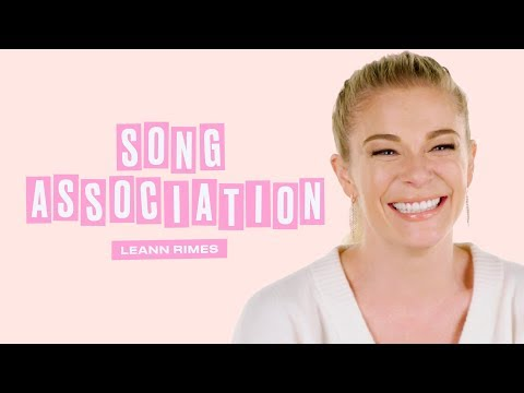 LeAnn Rimes Sings Your Favorite Christmas Songs in a Game of Song Association | ELLE