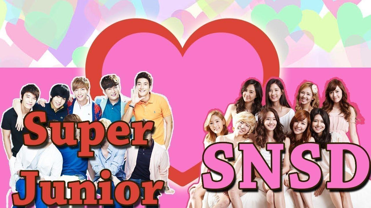 snsd dating super junior