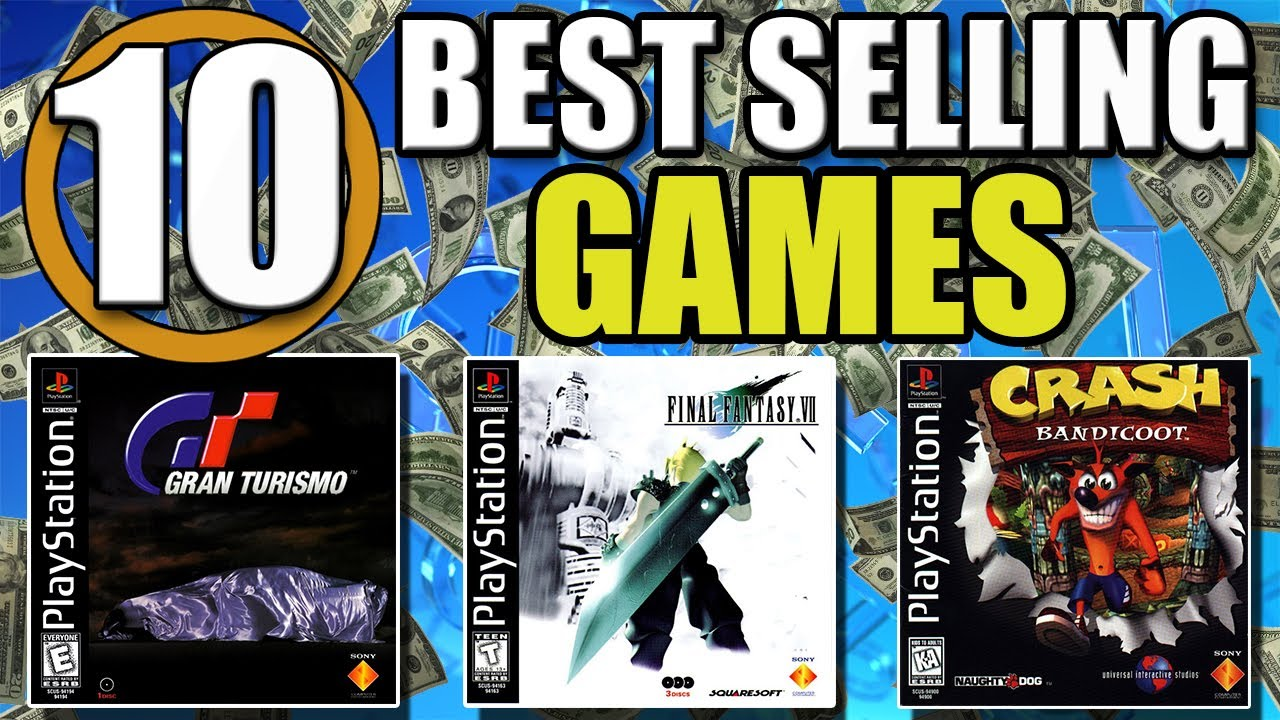 All Playstation 1 Games : Top best selling ps one games of all time