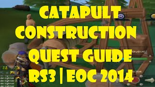 Catapult Construction Quest Guide Rs3 Eoc