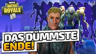 Das dümmste Ende! - ♠ Fortnite Battle Royale ♠ - Deutsch German - Dhalucard
