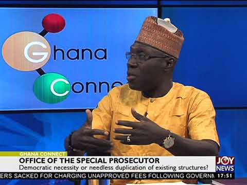 Office of the special prosecutor - Ghana Connect on JoyNews (15-9-17)