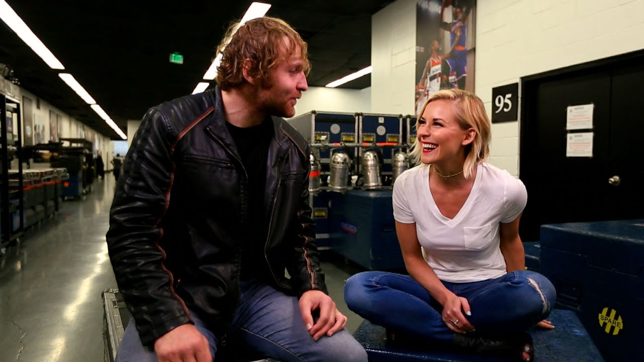 Image result for dean ambrose renee young relationship