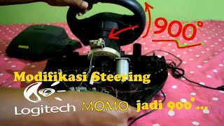 TUTORIAL MODIFIKASI 900 Degree pada Stir LOGITECH #Part 1