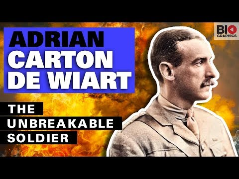 Adrian Carton De Wiart: The Most Badass Soldier Of All Time And A Real Life Action Hero
