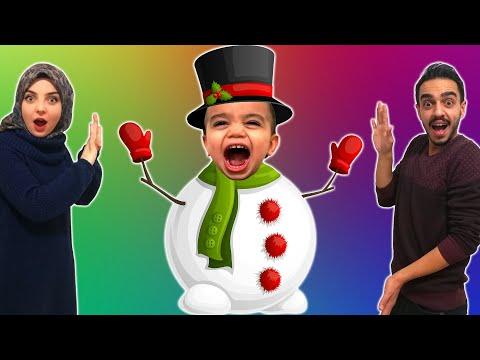 Yağız Kardan Adam Yaptı - Eğlenceli Çocuk Videosu YED SHOW