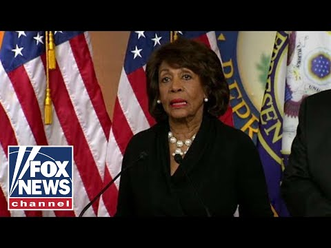 Maxine Waters renews calls to impeach President Trump