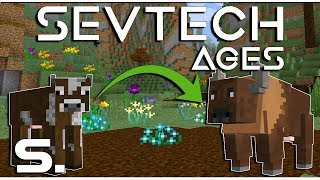 Minecraft - SevTech: Ages - Bölény varázslat! 🧙♂️ - 5.rész