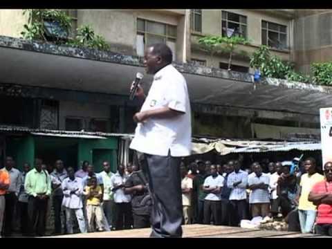 Bernard Doza au coeur de la résistance ivoirienne à Abidjan