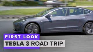Tesla Model 3 road trip: Fremont, Calif. to LA