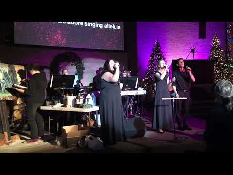 """Waiting Here For You"" sung at the Hillcrest Lutheran Academy Christmas Concert"