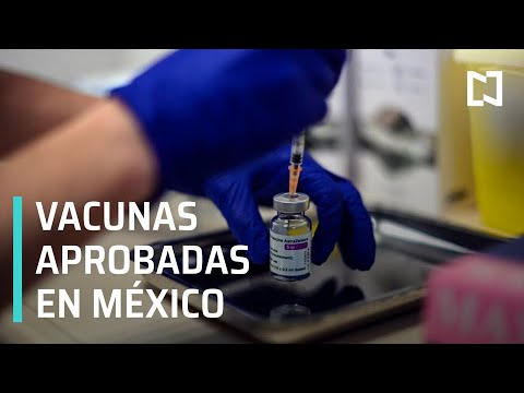 ¿Qué vacunas se han aprobado en México contra COVID-19? - Despierta
