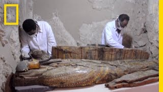 3,500 Year Old Egyptian Tomb Explored  What Was Inside? | National Geographic