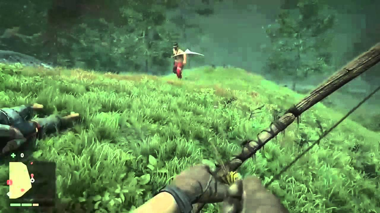 far cry 4 how to aim the hunting bow
