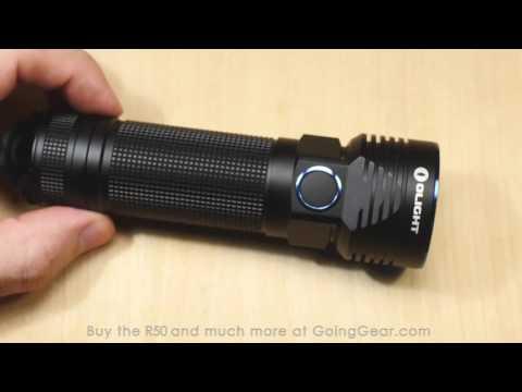 Olight R50 Seeker 2500 Lumen Flashlight Extended Review