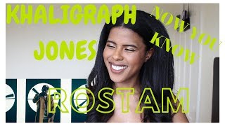 🇰🇪🇹🇿KHALIGRAPH JONES x ROSTAM - NOW YOU KNOW | (***REACTION***)