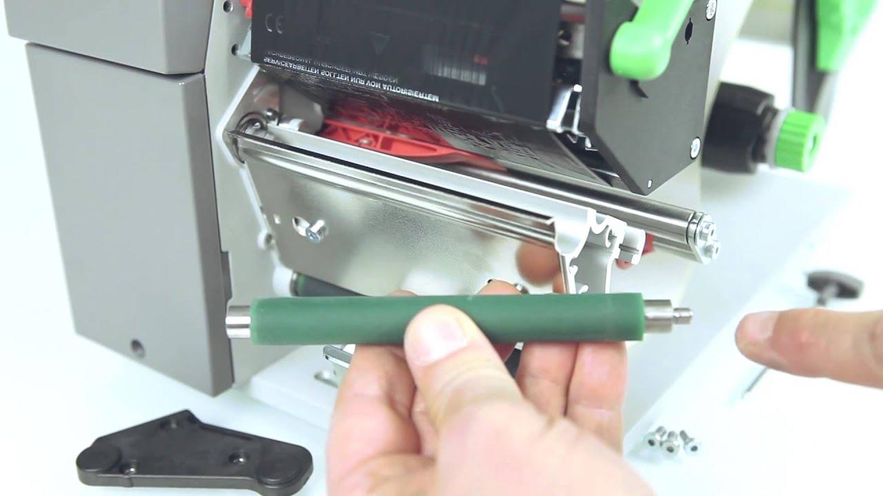 comment changer le rouleau d'impression des imprimantes cab a+ ... - Comment Changer Un Rouleau De Peinture