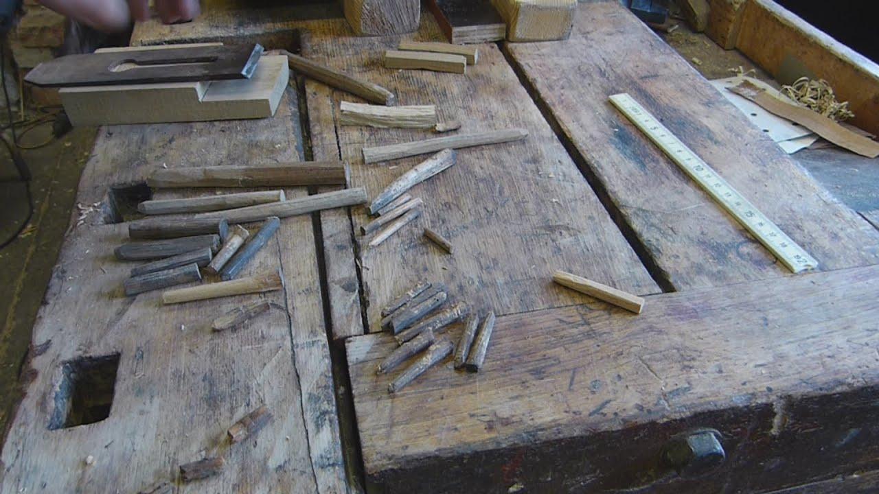 konische holzn gel selber herstellen holzd bel d bel selfmade conic wood dowels youtube. Black Bedroom Furniture Sets. Home Design Ideas