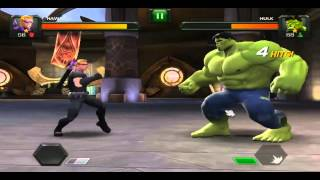 Top Gaming Iron Man vs Spider Man & Hulk vs Hawkeye (Android Apps)