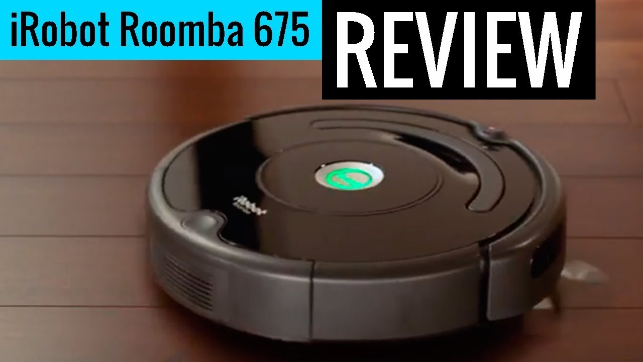 Irobot Roomba 675 Robot Vacuum With Wi Fi Connectivity Review Youtube