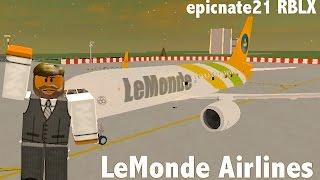 ROBLOX | LeMonde Airlines A319-NEO Flight
