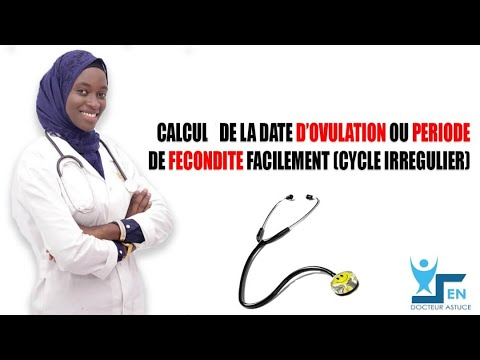 DATE D'OVULATION  (CYCLE IRREGULIER)