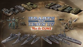 HOI4: Man the Guns - new music and unit models