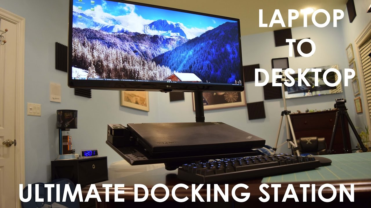 My Ultimate Laptop Docking Station Build With Lg Ultra