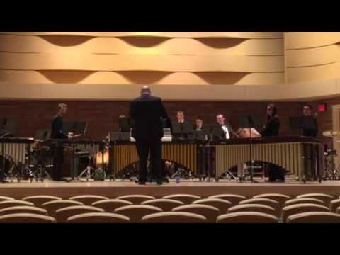 Kelly Walsh High School Percussion Ensemble - Mozambique