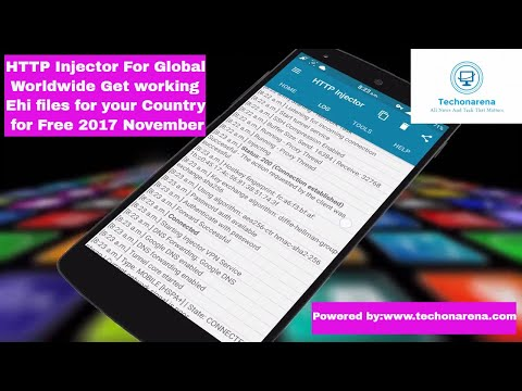 HTTP Injector for Globe Worldwide get working ehi config file for your country Easily 2017 November