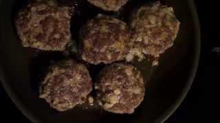 Kotlety Mielone (polish-style Hamburgers)