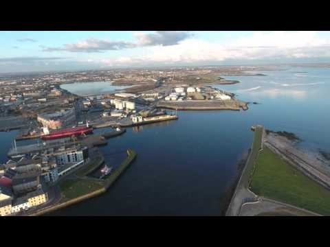 Galway From the Air - April 2016