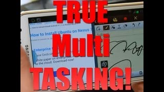 Why You Should Buy the Galaxy Note 2! [TRUE MULTI-TASKING]