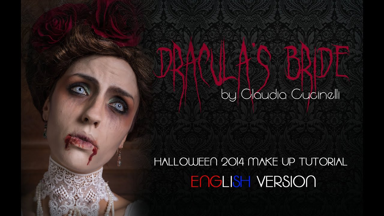 DRACULA\'S BRIDE Halloween 2014 Make Up Tutorial | Gothic Vampire ...