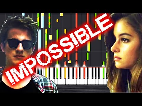 Charlie Puth - We Don't Talk Anymore - IMPOSSIBLE PIANO by PlutaX