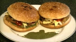 KARACHI BUN KABAB *COOK WITH FAIZA*